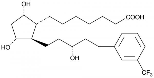 17-trifluoromethylphenyl-13,14-dihydro trinor Prostaglandin F1alpha