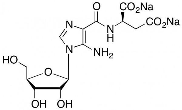 N-Succinyl-5-aminoimidazole-4-carboxamide Ribose