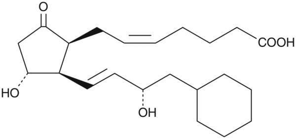 8-iso-16-cyclohexyl-tetranor Prostaglandin E2