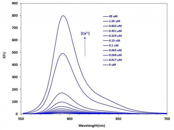 Calbryte(TM)-590, potassium salt