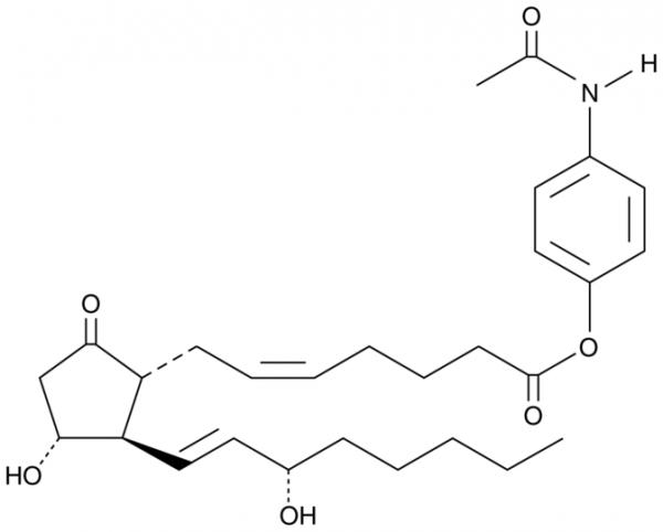 Prostaglandin E2 p-acetamidophenyl ester