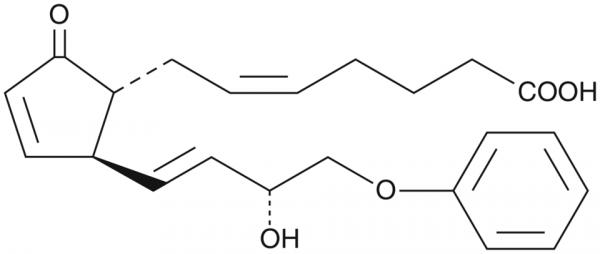 16-phenoxy tetranor Prostaglandin A2