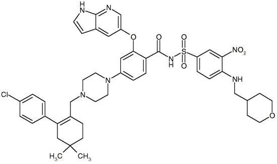 Venetoclax, Free Base (ABT-199, GDC-0199, CAS 1257044-40-8), >99%
