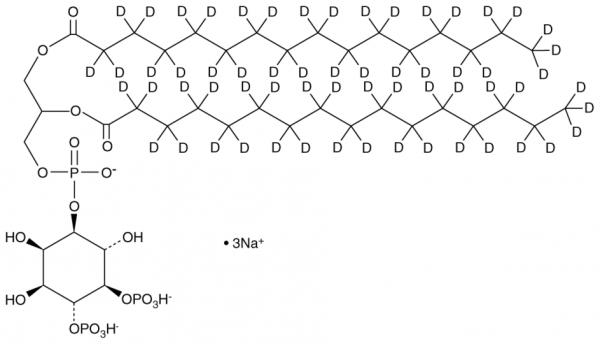 PtdIns-(4,5)-P2 (1,2-dipamitoyl)-d62 (sodium salt)