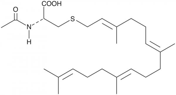 N-acetyl-S-geranylgeranyl-L-Cysteine