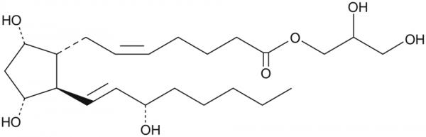 Prostaglandin F2alpha-1-glyceryl ester