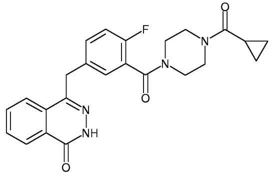 Olaparib (AZD-2281, KU-0059436, KU 59436, Lynparza, 763113-22-0)