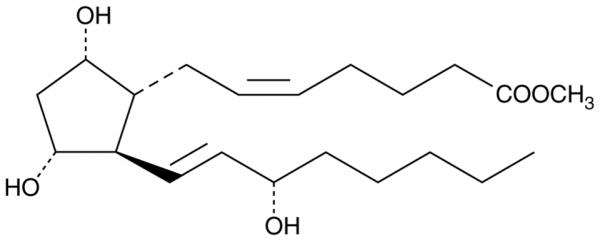 Prostaglandin F2alpha methyl ester