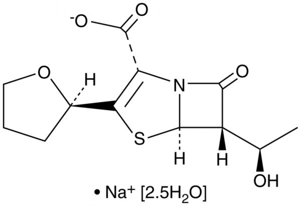 Faropenem (sodium salt hydrate)