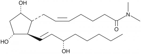 Prostaglandin F2alpha dimethyl amide