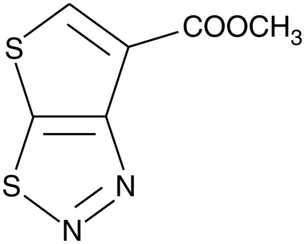 2,3-dihydrothieno-Thiadiazole Carboxylate