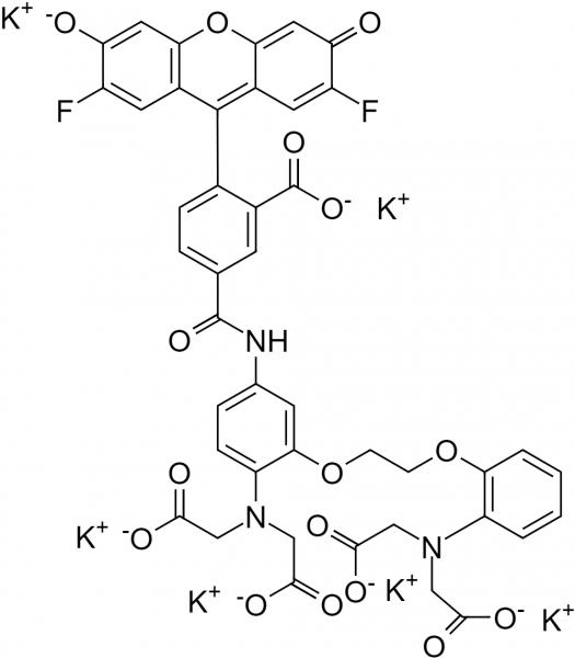 __488 BAPTA-1, hexapotassium salt [similar to Oregon Green(R) 488 BAPTA-1, hexapotassium salt] *C
