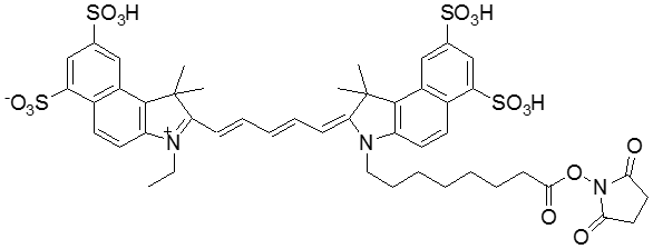 Flamma(R) 675 NHS ester