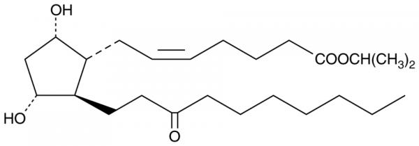 Unoprostone isopropyl ester