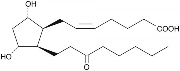 8-iso-13,14-dihydro-15-keto Prostaglandin F2alpha