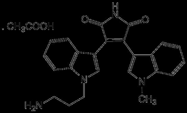 Bisindolylmaleimide VIII-AcOH