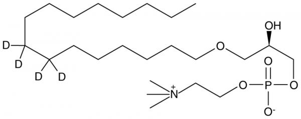 Lyso-PAF C-16-d4