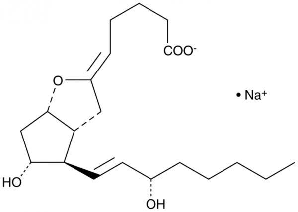 Prostaglandin I2 (sodium salt)