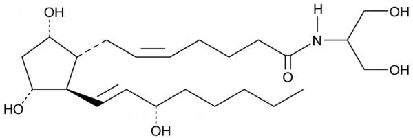 Prostaglandin F2alpha serinol amide