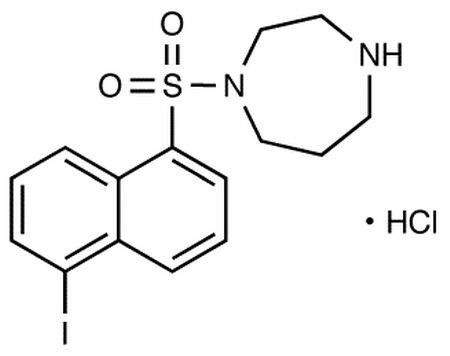 Protein Kinase Inhibitor ML-7 (PKI) (1-(5-Iodonaphthalene-1-sulfonyl)-1H-hexahydro-1,4-diazepine hyd