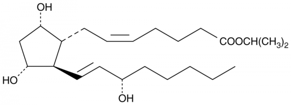 Prostaglandin F2alpha isopropyl ester