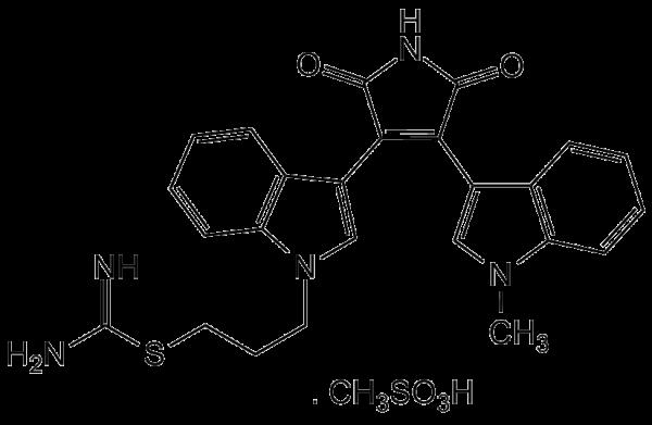 Bisindolylmaleimide IX-Methansulfonate