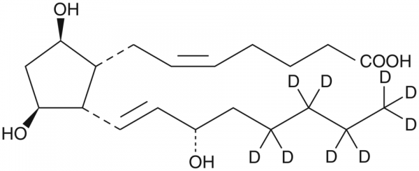 ent-8-iso-15(S)-Prostaglandin F2alpha-d9